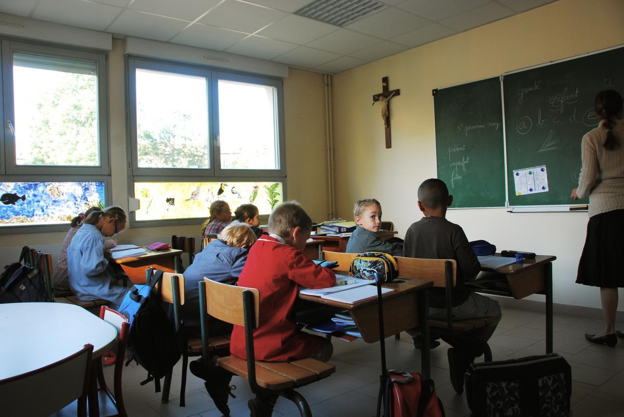 En classe 1